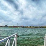 Paseando en botes a pedal en Lima
