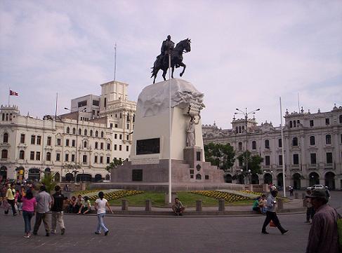 plaza-san-martin-lima-peru