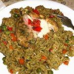 Comida peruana : Arroz con pollo – Receta