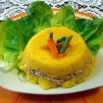 Comida peruana : Causa rellena  – Receta