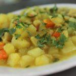 Comida peruana : El cau cau – Receta
