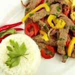 Comida peruana : Lomo saltado – Receta
