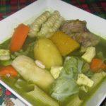 Comida peruana : Sopa de menestrón criollo – Receta