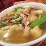 Comida peruana : sopa wantán – Receta